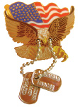 Eagle Dog Tags