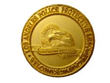 LAPD Challenge Coin